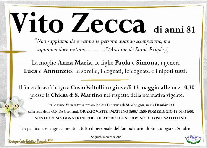Zecca Vito: Immagine Elenchi