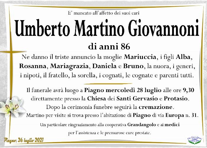 Giovannoni Umberto Martino: Immagine Elenchi