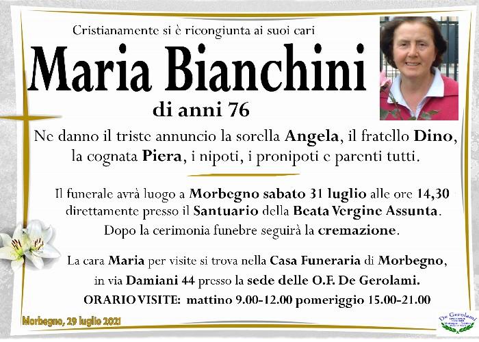 Bianchini Maria: Immagine Elenchi