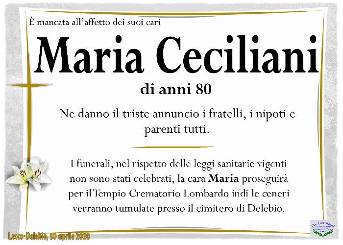 Ceciliani Maria: Immagine Elenchi