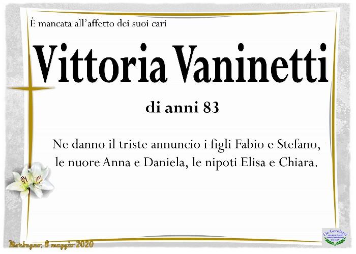 Vaninetti Vittoria: Immagine Elenchi