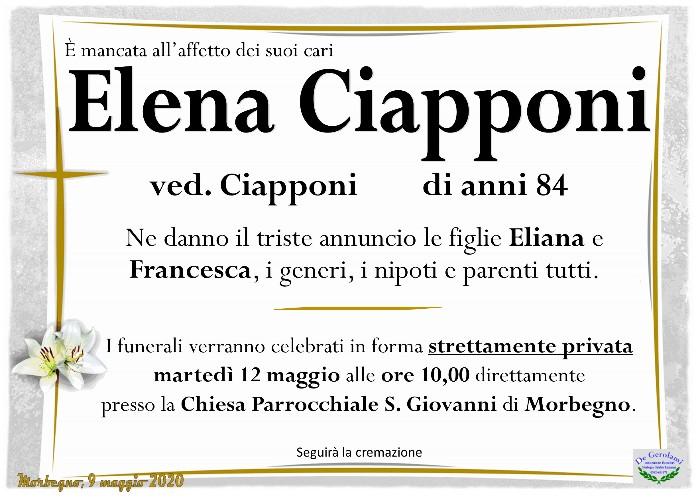 Ciapponi Elena: Immagine Elenchi