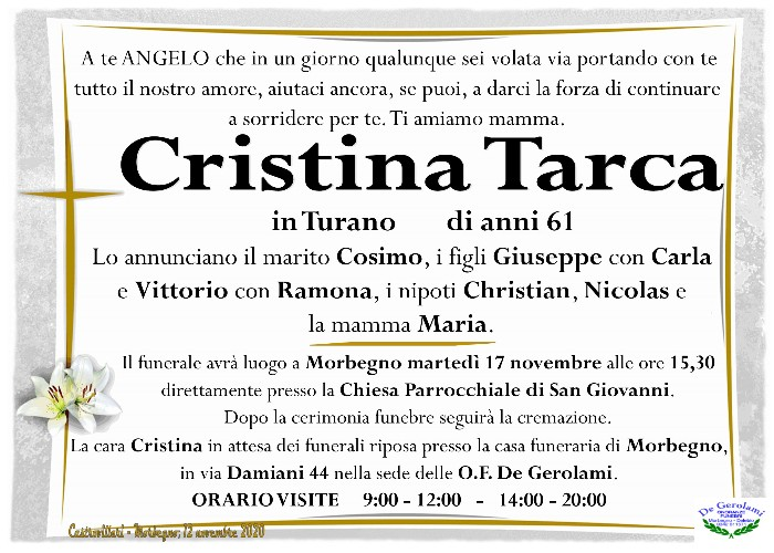 Tarca Cristina: Immagine Elenchi