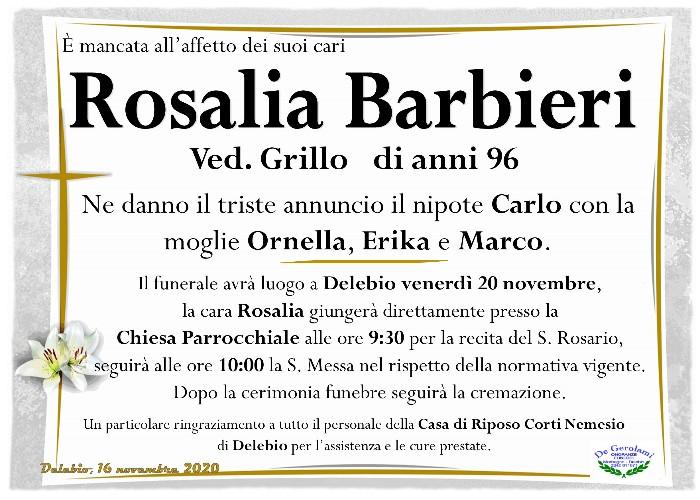 Barbieri Rosalia: Immagine Elenchi