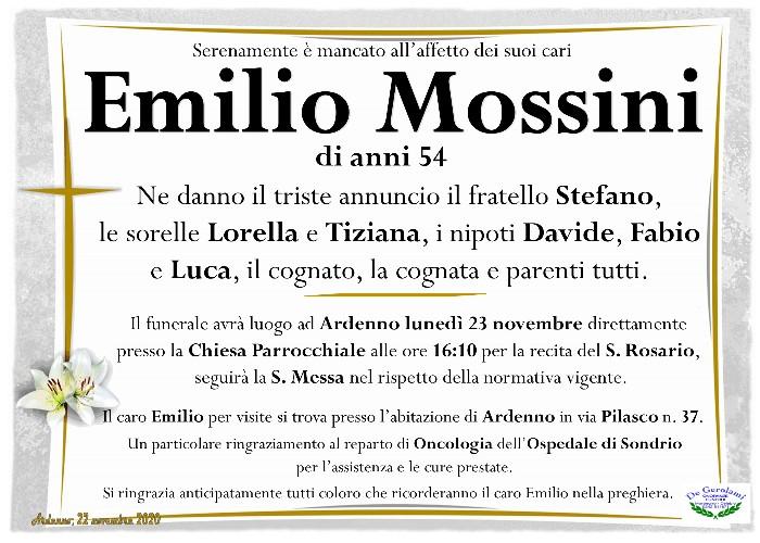 Mossini Emilio: Immagine Elenchi