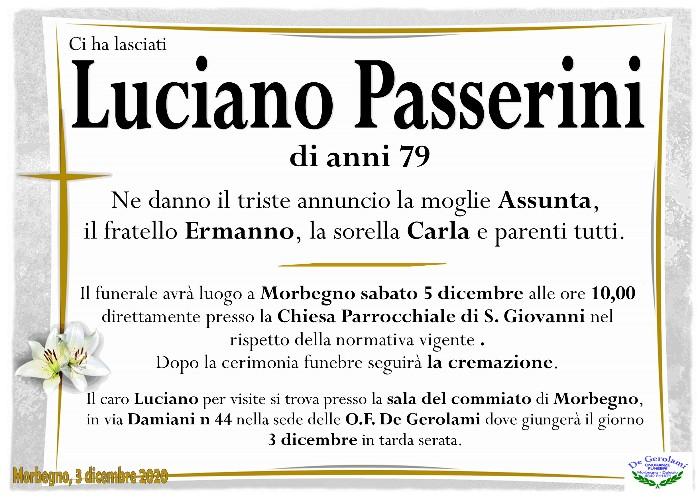 Passerini Luciano: Immagine Elenchi