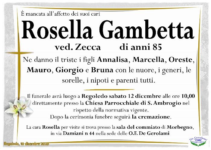 Gambetta Rosella: Immagine Elenchi