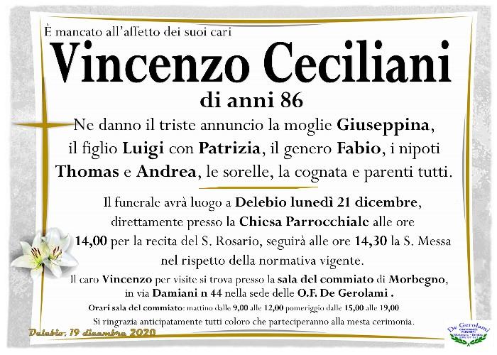 Ceciliani Vincenzo: Immagine Elenchi
