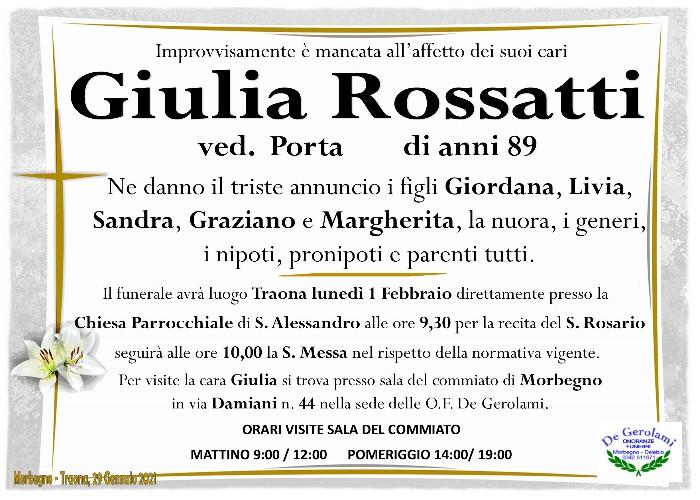 Giulia Rossatti: Immagine Elenchi