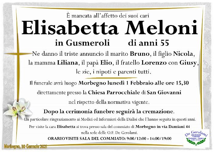 Meloni Elisabetta: Immagine Elenchi