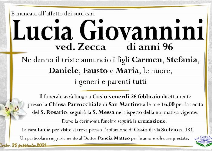 Lucia Giovannini: Immagine Elenchi
