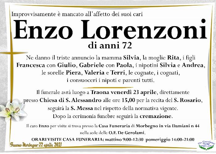 Lorenzoni Enzo: Immagine Elenchi