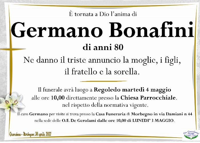 Bonafini Germano: Immagine Elenchi